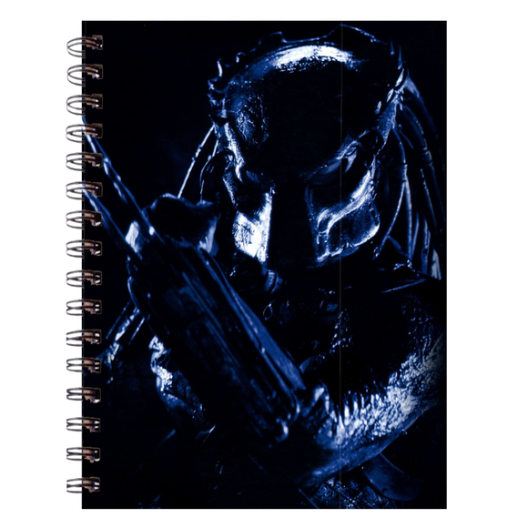 AVP Predator Portrait Spiral Notebook (200 Pages) :: Mental XS Online