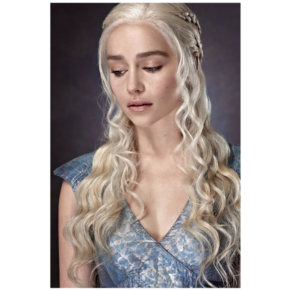 Game of Thrones Daenerys Targaryen Blue Mini Canvas Art Print