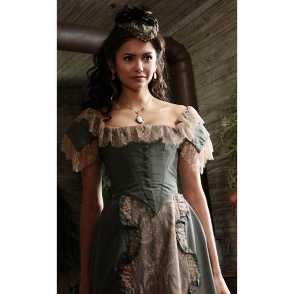 Vampire Diaries 1x13 Katherine Pierce 1864 Shop Dress (US 4-14) from The Costume Portal at Mental XS Online