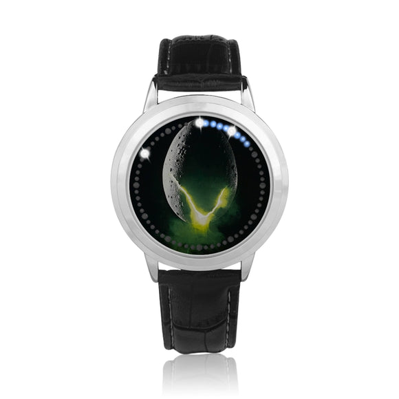 Alien Egg Black & Silver Touch-Sreen Water-resistant LED Watch :: Mental XS EXCLUSIVE