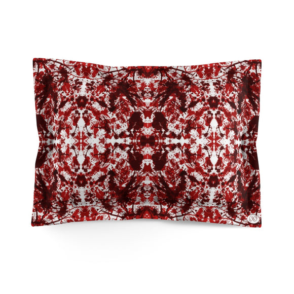 Red Kaleidoscope Microfiber Pillow Case (Standard) :: Mental XS Online EXCLUSIVE