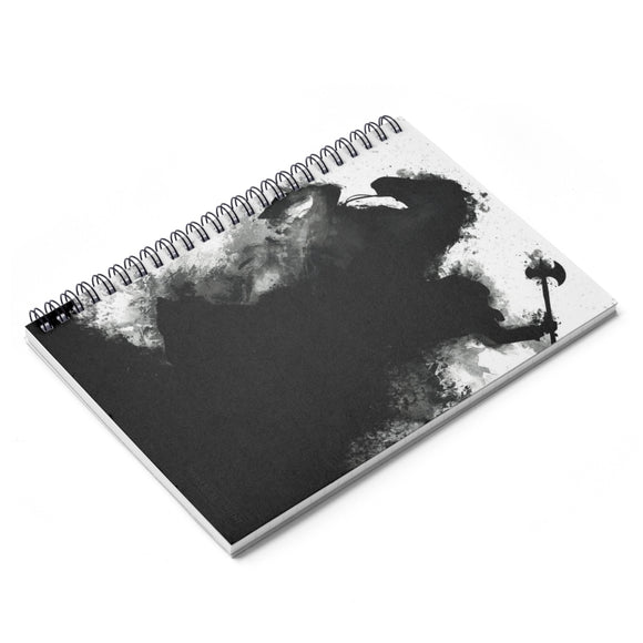 Sleepy Hollow Headless Horseman Lined Spiral Notebook [8
