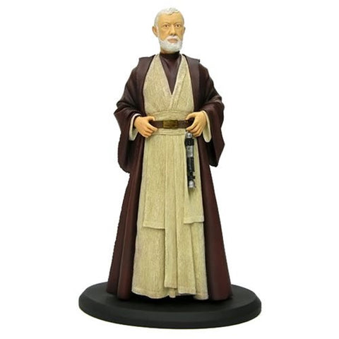 "Star Wars Episode IV: A New Hope - Obi-Wan Kenobi Cold-Cast Resin Statue 15"" - Attakus Limited Edition 1,500 Pieces from Mental XS Online"
