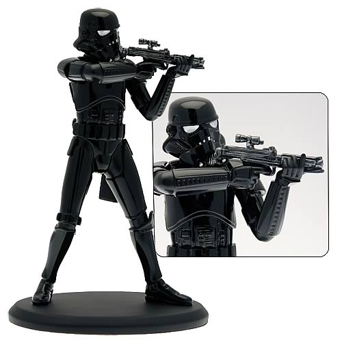 Star Wars - Shadow Trooper Cold-Cast Resin Statue 7½