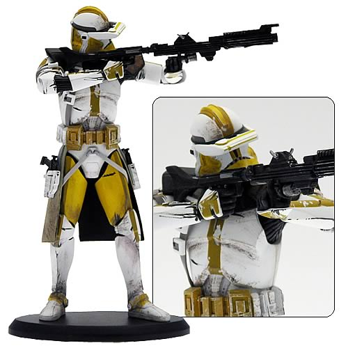 Star Wars - CC-5052 Commander Bly Clone Trooper Statue 7½