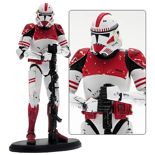 Star Wars - CC-4477 Lieutenant Thire Clone Trooper Statue 7½