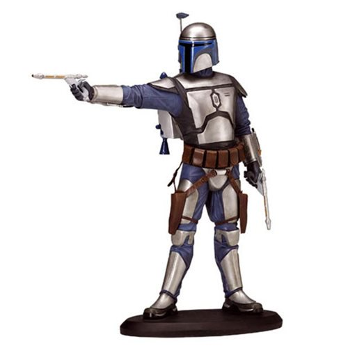 Star Wars Episode II: Attack of the Clones - Jango Fett Cold-Cast Porcelain Statue 7½