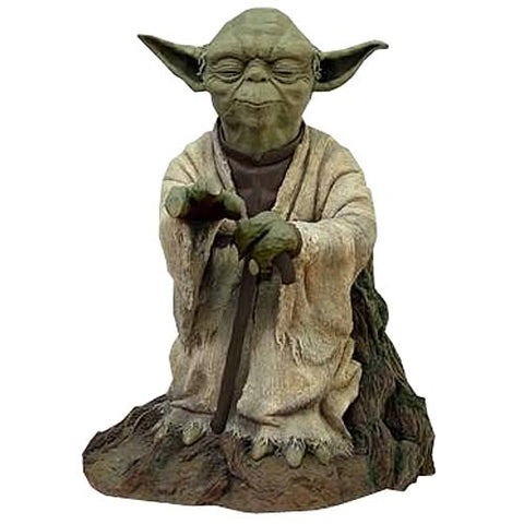 "Star Wars Episode V: The Empire Strikes Back - Yoda Cold-Cast Resin Statue 21¼"" - Attakus Limited Edition 499 Pieces from Mental XS Online"