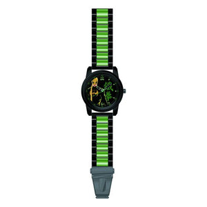 Marvel Comics Iron Fist Black Bracelet Watch - Official Accutime :: Mental XS Online