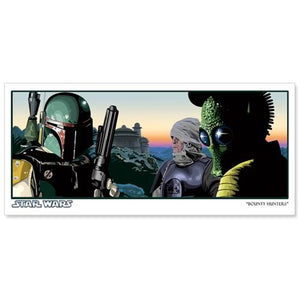 "Star Wars ""Bounty Hunters"" Unframed Paper Giclee Fine Art Print by Randy Martinez [13"" x 19""] - Official Acme Archives Limited Edition 350 :: Mental XS Online"