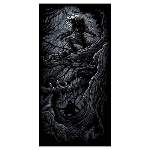 Predator Silkscreen Metallic Art Print by Dan Mumford [24