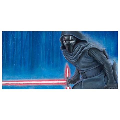 Star Wars TFA Dark Descent Canvas Print