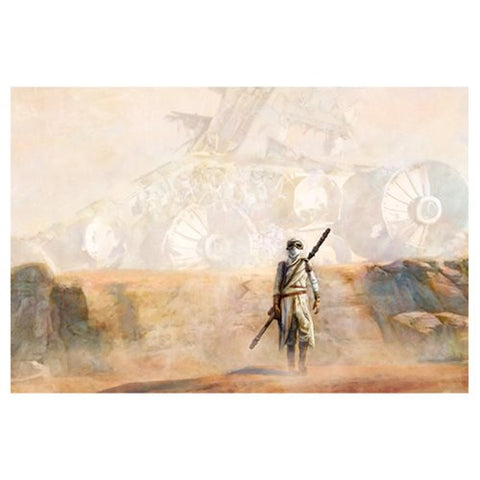 Star Wars Nowhere Rock by Cliff Cramp Canvas Giclee Print