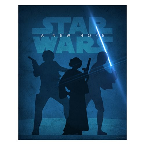 Star Wars Episode IV: A New Hope Metallic Lithograph Giclee Fine Art Print by Jason Christman [20