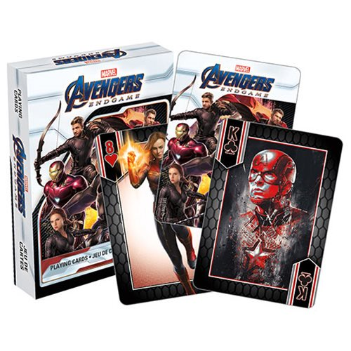 Marvel Comics Avengers: Endgame Playing Cards - Official Unisex :: Mental XS Online