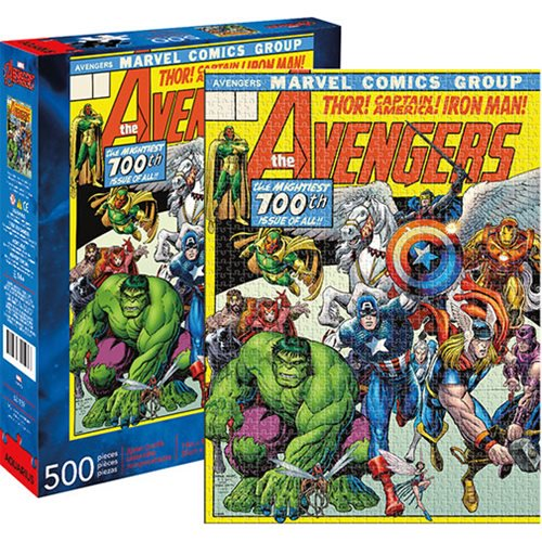 Marvel Comics Avengers Cover 500-Piece Puzzle - Official Unisex :: Mental XS Online