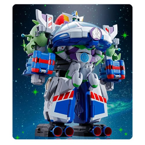 Toy Story Chogattai Space Ranger Robo Buzz Action Figure - Official Bandai Tamashii Nations :: Mental XS Online