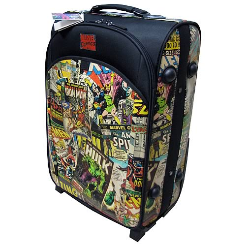Marvel Retro Collection Trolley Case - Official Bb Designs :: Mental XS Online