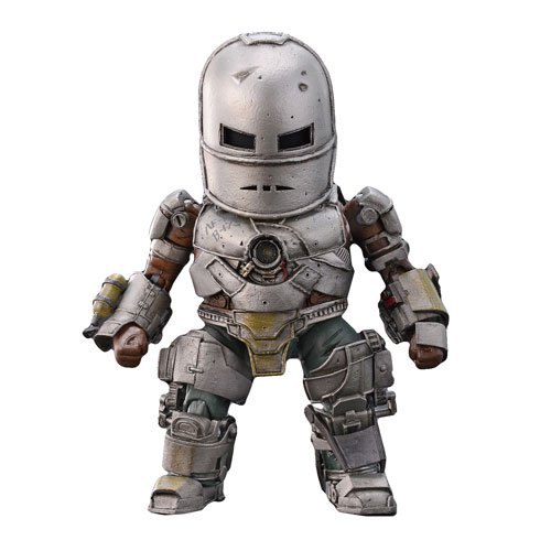 Iron Man 3: Iron Man Mark 1 Egg Attack Action Figure 6