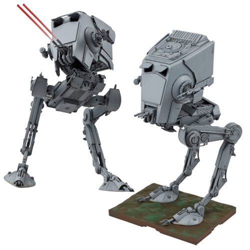 Star Wars AT-ST Walker 1:48 Scale Model Kit - Official Unisex :: Mental XS Online