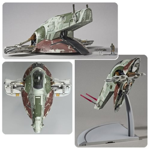 Star Wars Episode V: The Empire Strikes Back Slave 1 1:144 Scale Model Kit - Official Unisex :: Mental XS Online