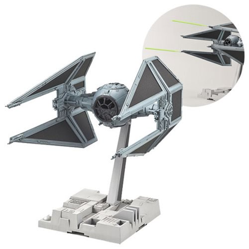 Star Wars Episode VI: Return of the Jedi TIE Interceptor 1:72 Scale Model Kit - Official Unisex :: Mental XS Online