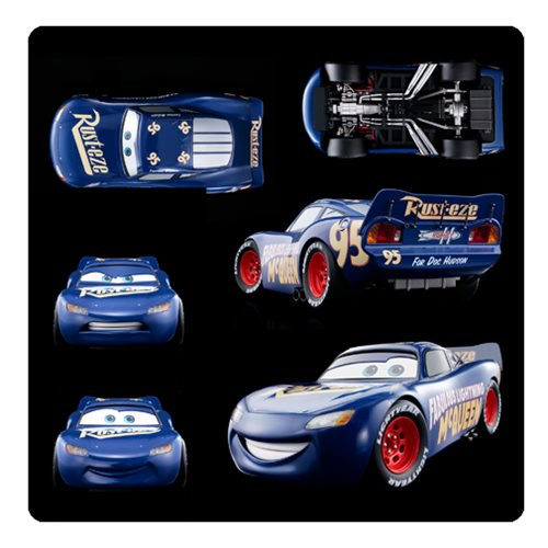 Cars 3 Fabulous Lightning McQueen Chogokin Die-Cast Metal Vehicle - Official Bandai Tamashii Nations :: Mental XS Online