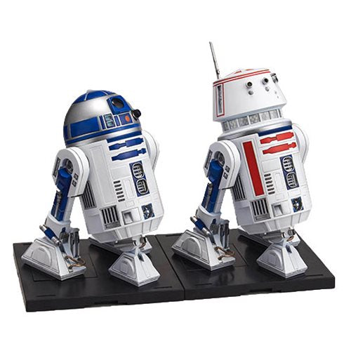 Star Wars Episode IV: A New Hope - R2-D2 and R5-D4 1:12 Scale Model Kit Set - Official Unisex :: Mental XS Online