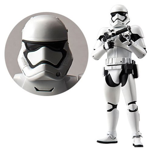 Star Wars First Order Stormtrooper 1:12 Scale Model Kit - Official Unisex :: Mental XS Online