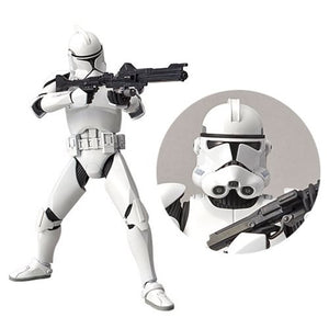 Star Wars Episode II: Attack of the Clones Clonetrooper 1:12 Scale Model Kit - Official Unisex :: Mental XS Online