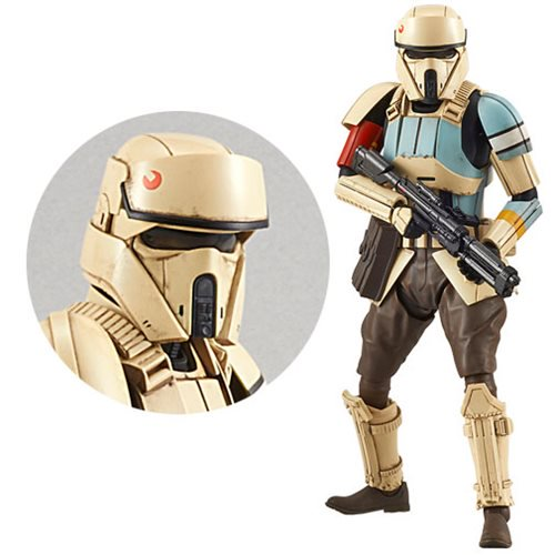 Rogue One: A Star Wars Story - Scarif Shoretrooper 1:12 Scale Model Kit - Official Unisex :: Mental XS Online