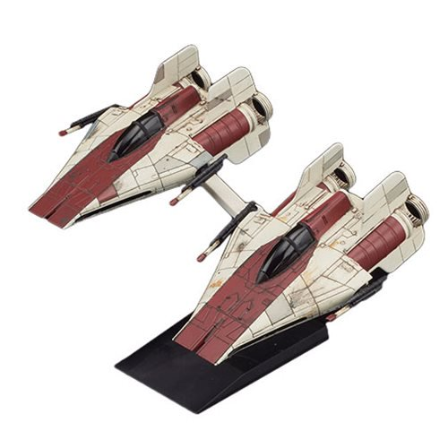 Star Wars Episode VI: Return of the Jedi - A-Wing Star Fighter 1:144 Scale Model Kit - Official Unisex :: Mental XS Online