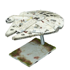 Star Wars Episode VIII: The Last Jedi Millennium Falcon 1:144 Scale Kit - Official Unisex :: Mental XS Online