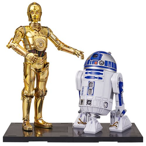 Star Wars Episode VIII: The Last Jedi C-3PO & R2-D2 1:12 Scale Model Kit Set - Official  :: Mental XS Online