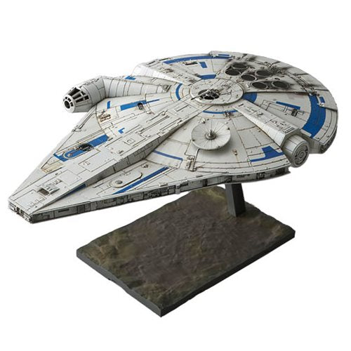 Solo: A Star Wars Story - Millennium Falcon 1:144 Scale Model Kit - Official Unisex :: Mental XS Online