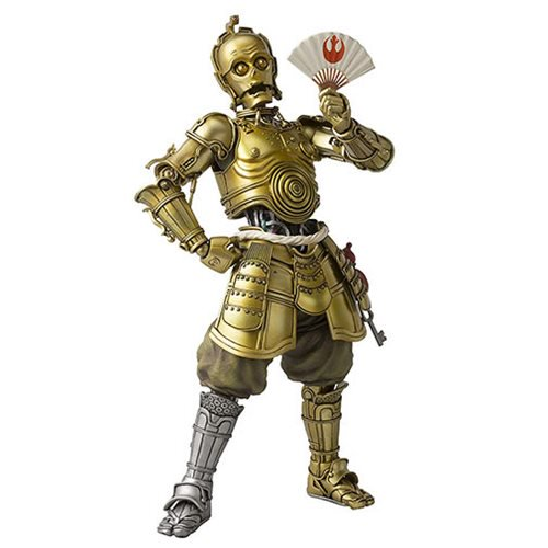 Star Wars C-3PO Meisho Movie Realization Action Figure by Takayuki Takeya - Official Unisex :: Mental XS Online
