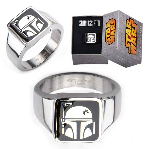 Star Wars Boba Fett Ring - Official Female :: Mental XS Online