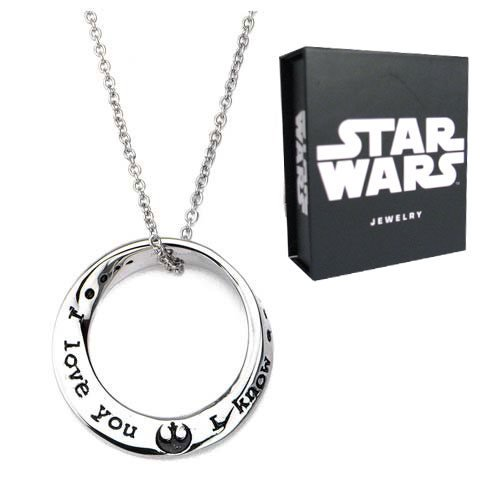 Star Wars I Love You I Know Mobius Necklace - Official Female :: Mental XS Online