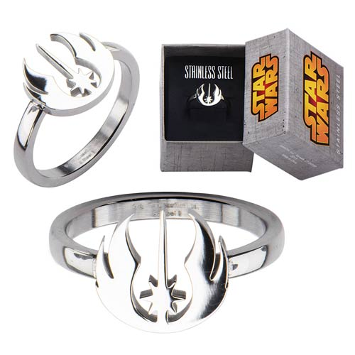Star Wars Jedi Order Symbol Cut Out Ring - Official Female :: Mental XS Online