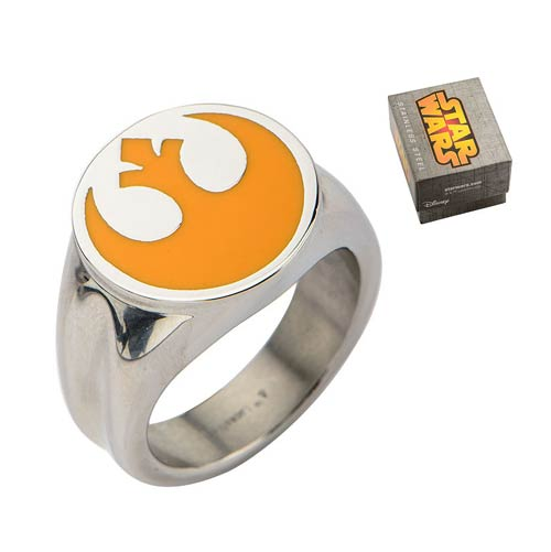 Star Wars Rebel Symbol Ring - Official Female :: Mental XS Online
