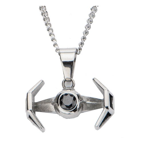 Star Wars TIE Fighter Pendant Necklace - Official Unisex :: Mental XS Online