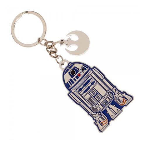 Star Wars R2-D2 Metal Keychain - Official Unisex :: Mental XS Online