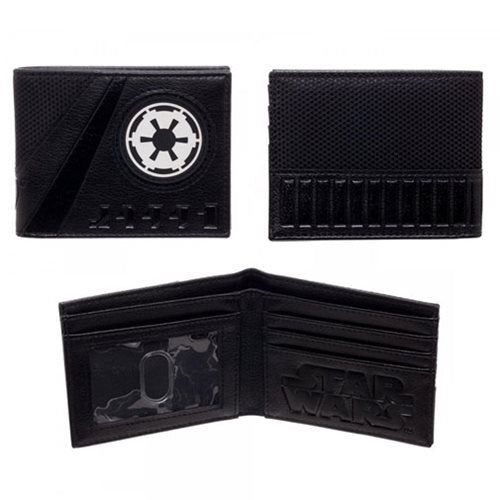 Star Wars Galactic Empire Symbol Bi-Fold Wallet - Official Unisex :: Mental XS Online