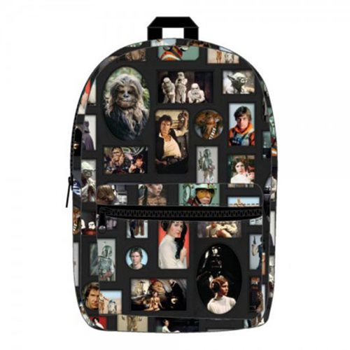 Star Wars Photo Album Sublimated Backpack - Official  :: Mental XS Online