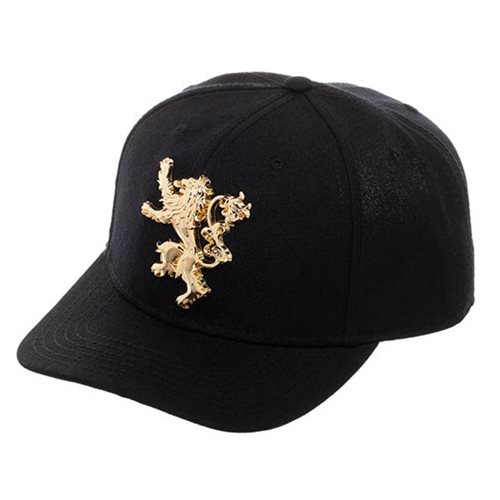 Game of Thrones Lannister Snapback Baseball Cap - Official Bioworld :: Mental XS Online