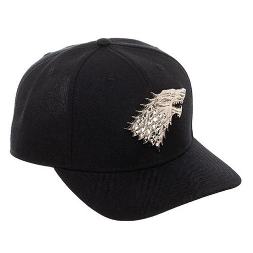 Game of Thrones Stark Snapback Baseball Cap - Official Bioworld :: Mental XS Online