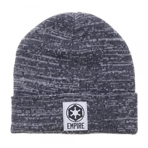 Star Wars Galactic Empire Symbol Marled Beanie Hat - Official Unisex :: Mental XS Online