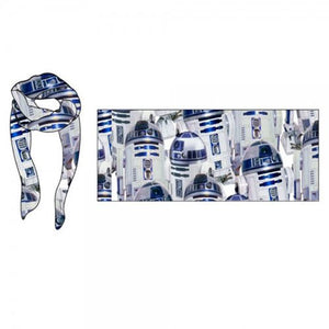 Star Wars R2-D2 Viscose Scarf - Official Unisex :: Mental XS Online
