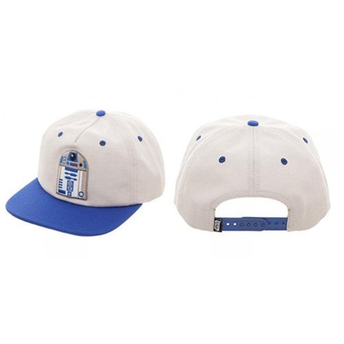 Star Wars R2-D2 Oxford Snapback Baseball Cap - Official  :: Mental XS Online
