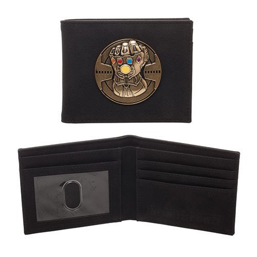 Marvel Comics Avengers: Infinity War Gauntlet Metal Emblem Wallet - Official  :: Mental XS Online